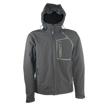 Softshell jakna crna William