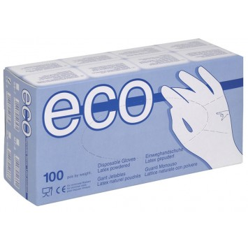 Rukavice PROTECTS ECO LATEX sa puderom (paket)